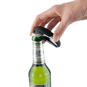 champagne and bottle opener