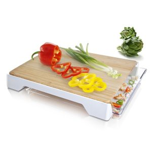 cutting board and tray