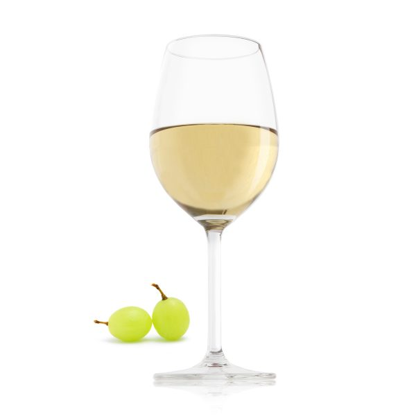 white wine glass