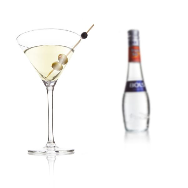 glass martini